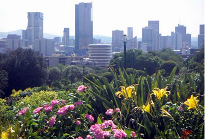 View of Pretoria City tour