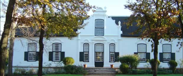 The famous Cape Dutch Architecture